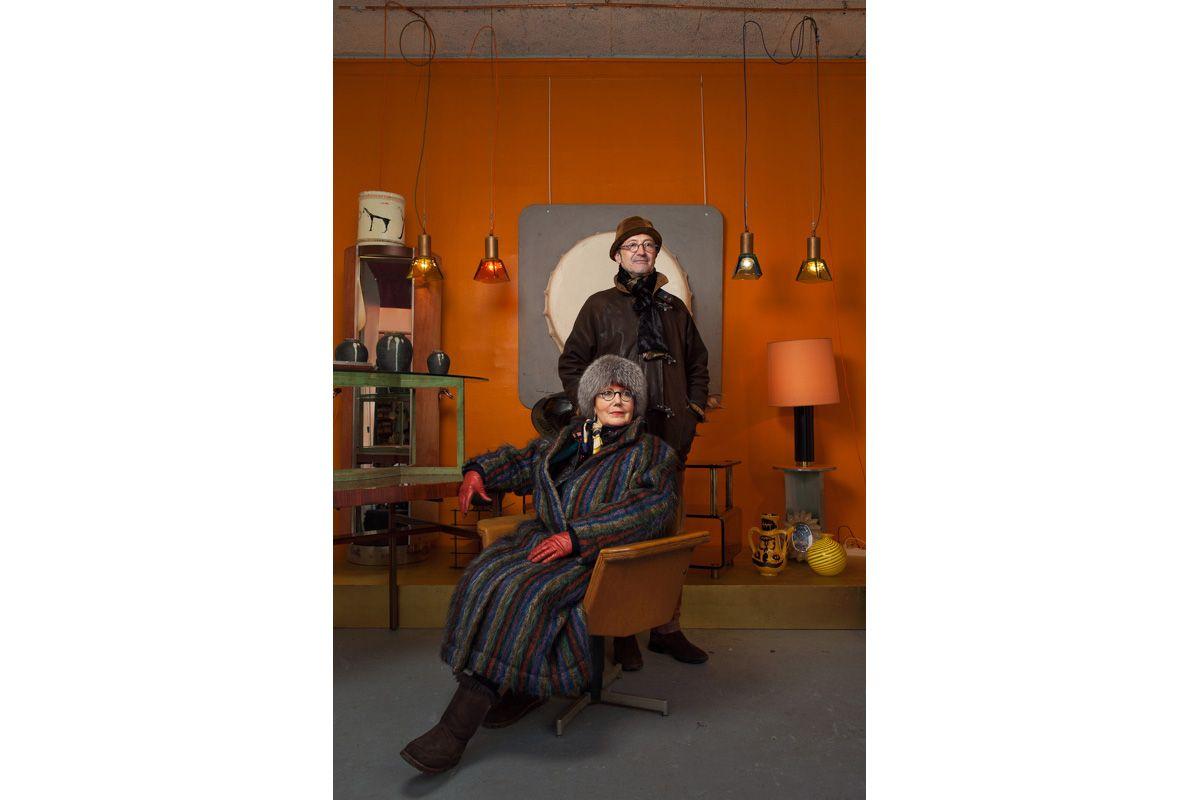 Franck & Louise Morel, Marché Paul Bert