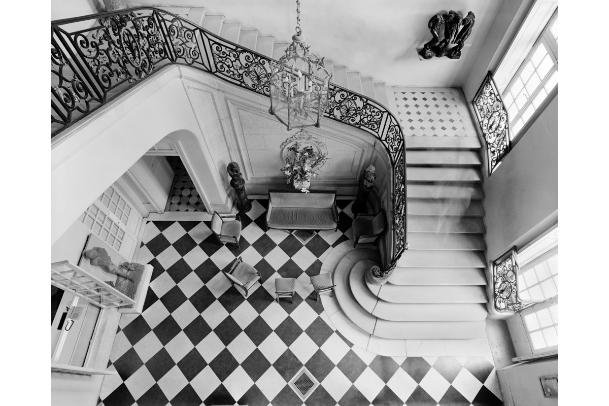 Rodin Museum, Staircase