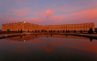 Château de Versailles at twilight