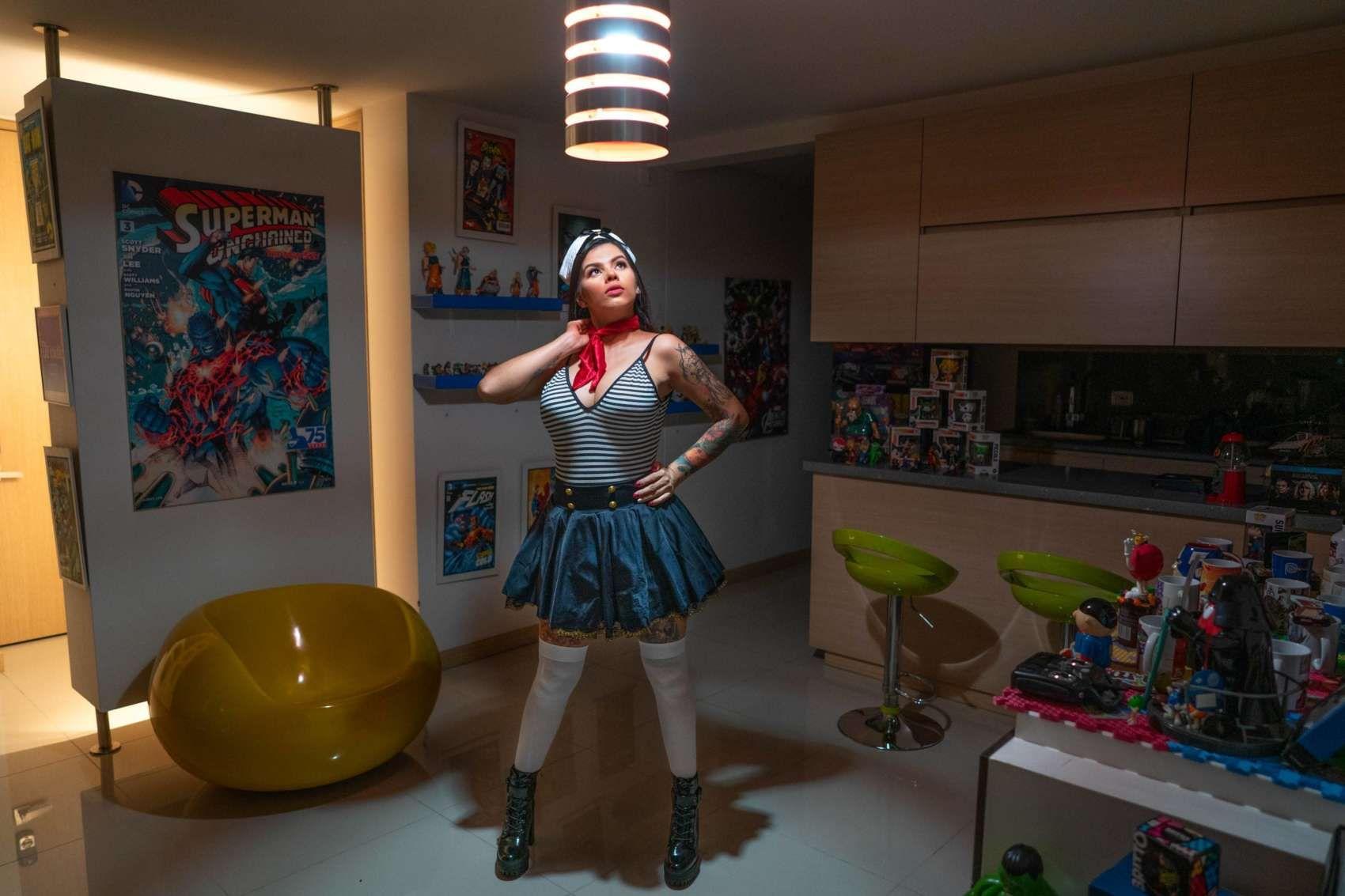 "Ottavia Fabbri – ""#WebcamModeling - Colombia"" - diplômée Spéos 2014"